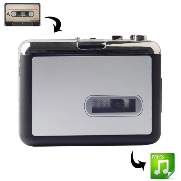 usb cassette tape to mp3 converter capture audio music player alex nld. Black Bedroom Furniture Sets. Home Design Ideas