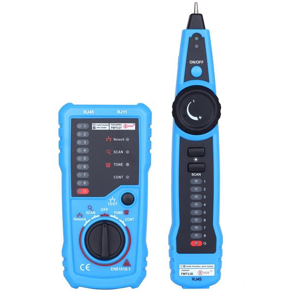 BSIDE FWT11 RJ11 RJ45 Wire Tracker Tracer Telephone Ethernet LAN ...