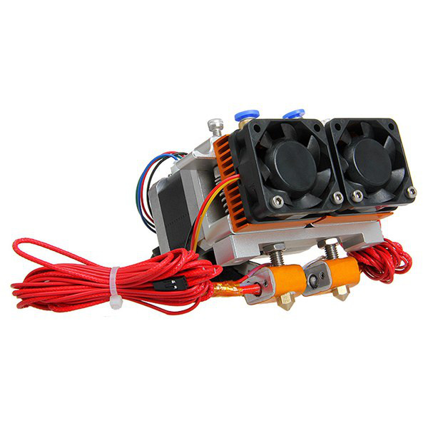Geeetech 3D Printer MK8 Dual Extruder Two-color Extrusion
