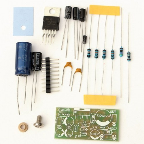 DIY TDA2030A Audio Amplifier Board Kit Mono Power 18W DC 9V-24V