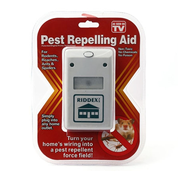 Riddex 220v Pest Repelling Aid Electronic Ultrasonic Rat