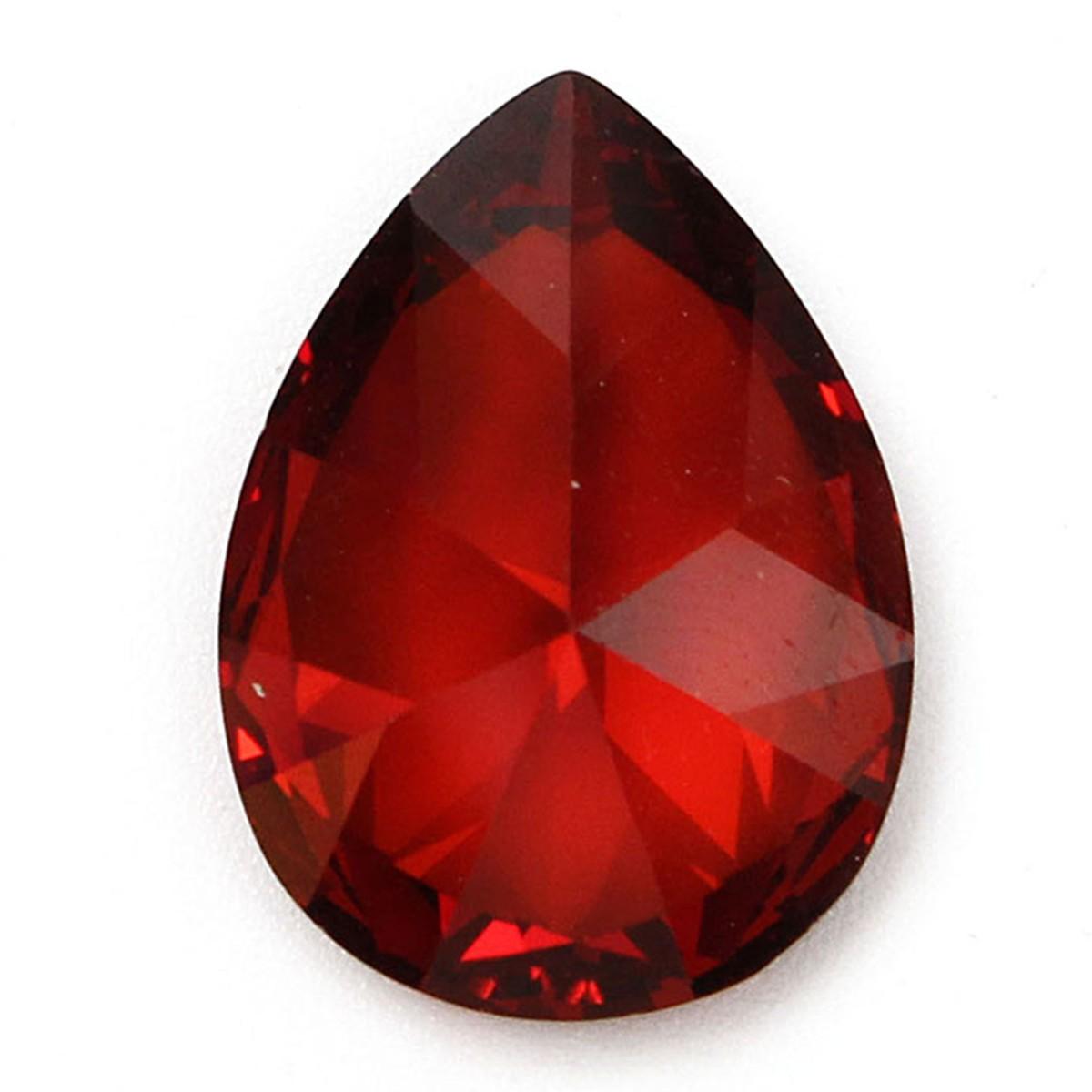 13x18mm Red Gemstone Loose Gem DIY Findings Setting ...