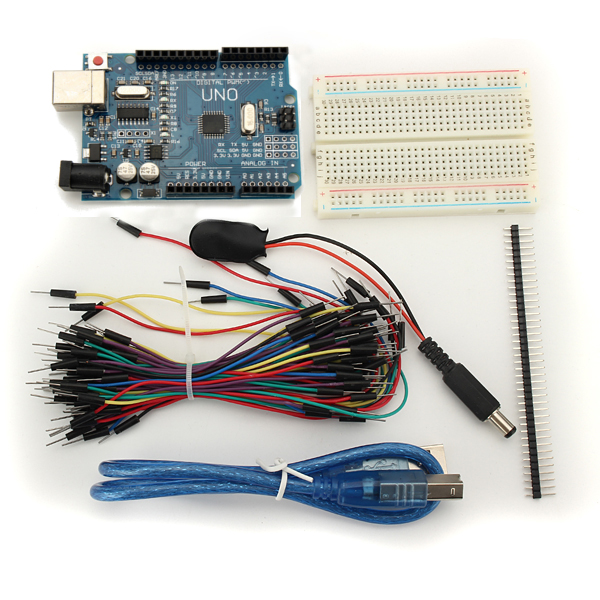 Uno r module mini breadboard jumper starter kit for basic