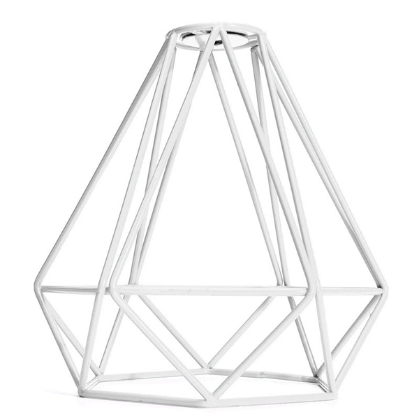 loft industrial metal frame ceiling pendant hanging light
