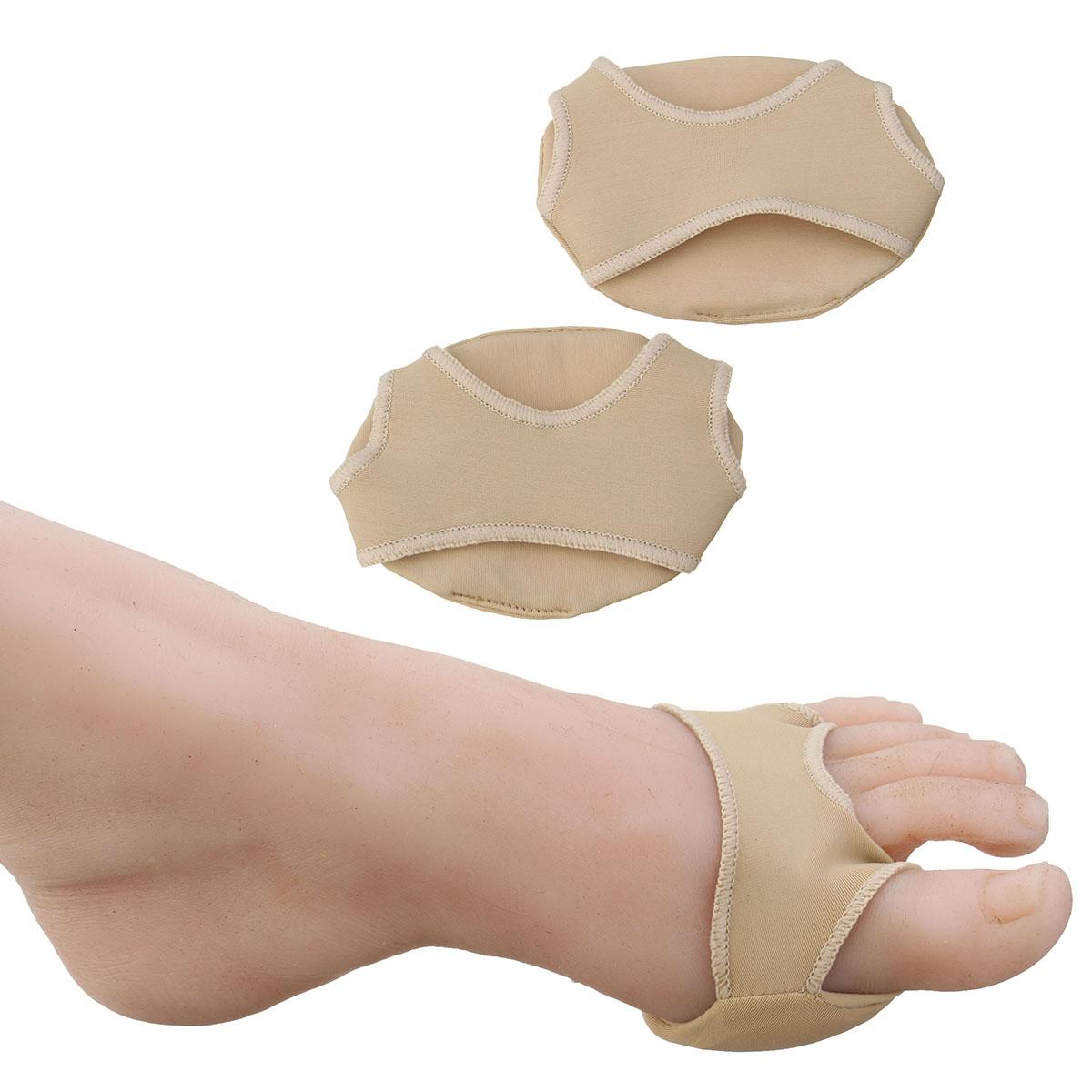 1Pair Footful Ball Spandex Foot Gel Pads Cushion Forefoot Metatarsal High Heel Shoes Accessories