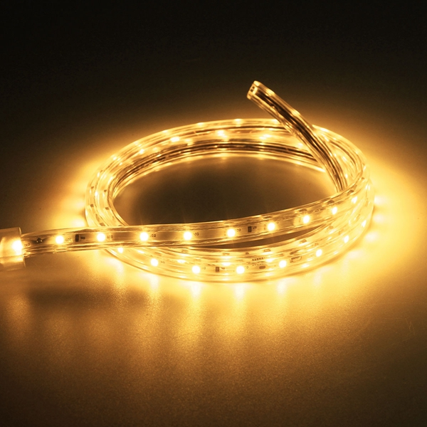 5M 17 5W Waterproof IP67 SMD 3528 300 LED Strip Rope Light Christmas Party Ou