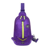 Lightweight Waterproof Chest Bags Men Women Outdoor Travel Luminous Shoulder Bag Running Hiking Bags