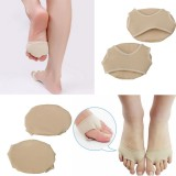 1Pair Footful Ball Spandex Foot Gel Pads Cushion Forefoot Metatarsal High Heel Shoes Accessories