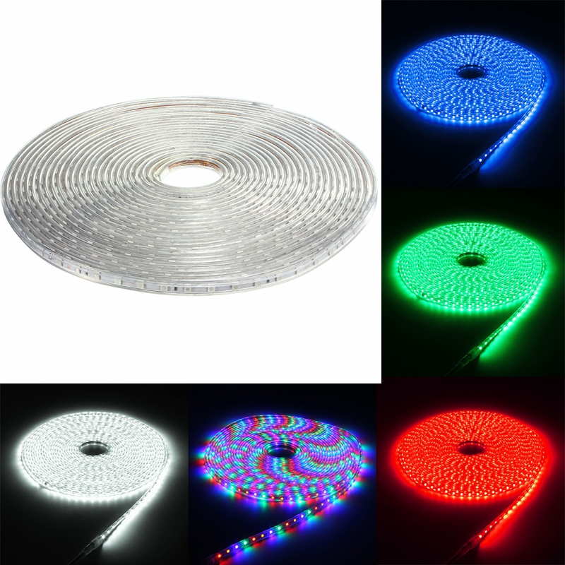 Outdoor Waterproof Solar Led Strip Light Smd 5050 5m: 220V 15M 5050 LED SMD Outdoor Waterproof Flexible Tape