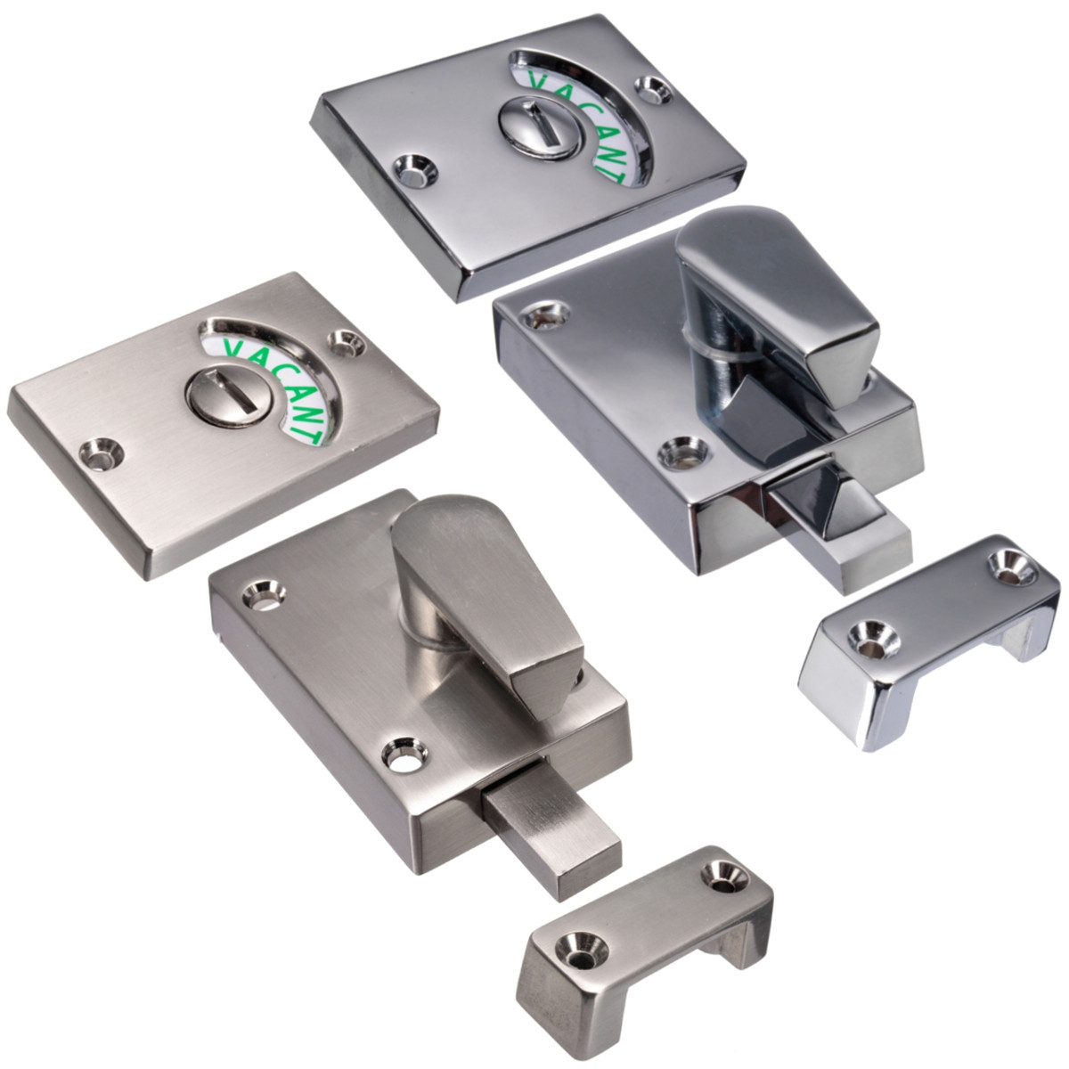 Nickel drawing chroming bathroom toilet door lock indicate for Door lock germany