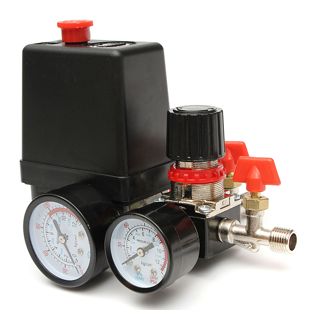 125psi Air Compressor Pressure Valve Switch Control