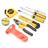 9pcs Auto Car Household Repair Tool Set Combination Hand Emergency Tool Common Kit