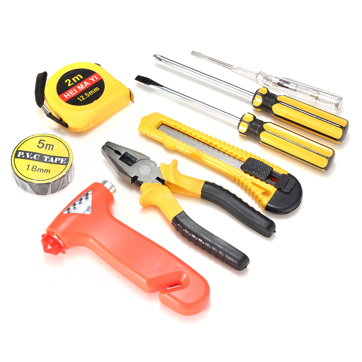 9pcs auto car household repair tool set combination hand for Common garden hand tools