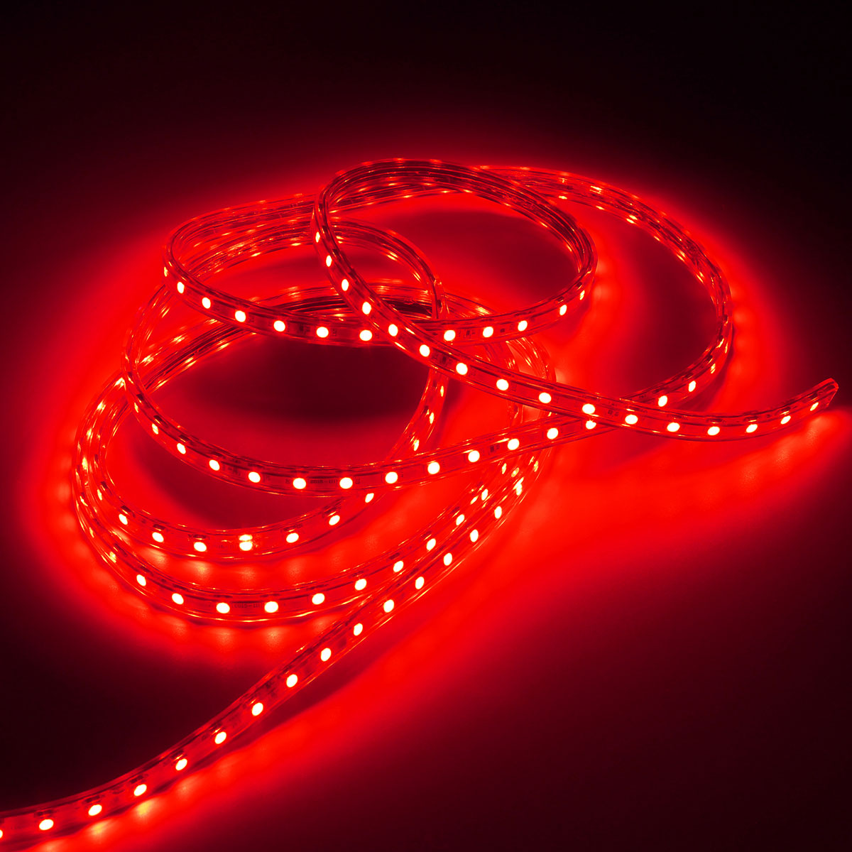 Outdoor 5050 Tape Light: 220V 3M 5050 LED SMD Outdoor Waterproof Flexible Tape Rope