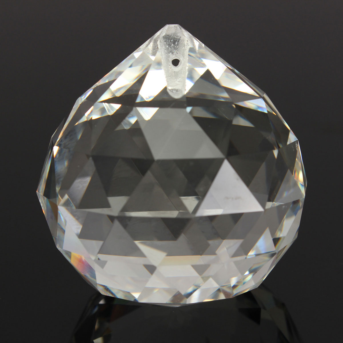 20MM Clear Crystal Ball Teardrop Faceted Chandelier ...