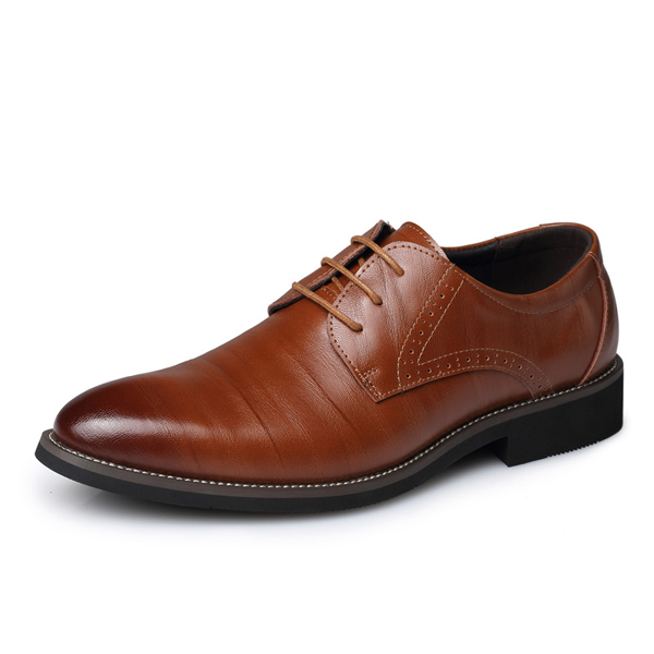Men Very Pointed Formal Shoes