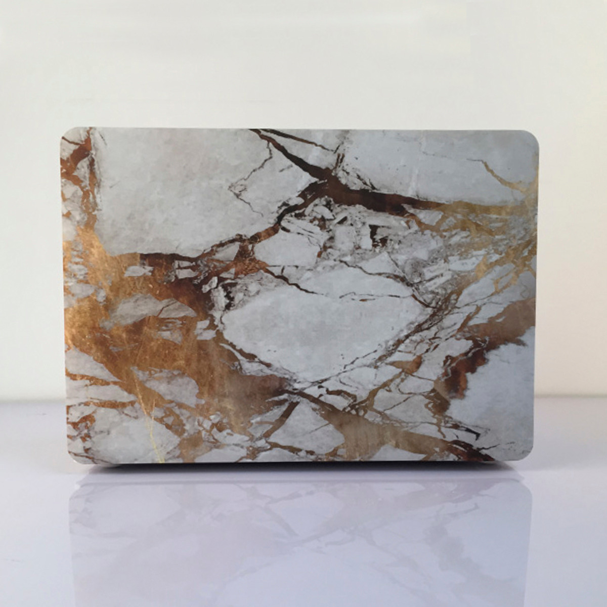 marble matte stone hard case cover top bottom shell for