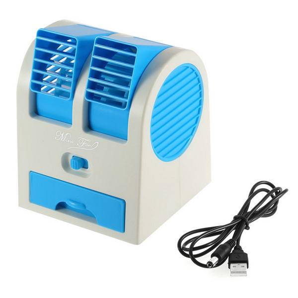 Portable Air Ventilator : Portable usb ultra quiet mini air conditioning fan