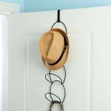 Hats Clothes Tie Interlink Holder Wire Stackable Storage Rack Kitchen Organizer Door Wall Hooks