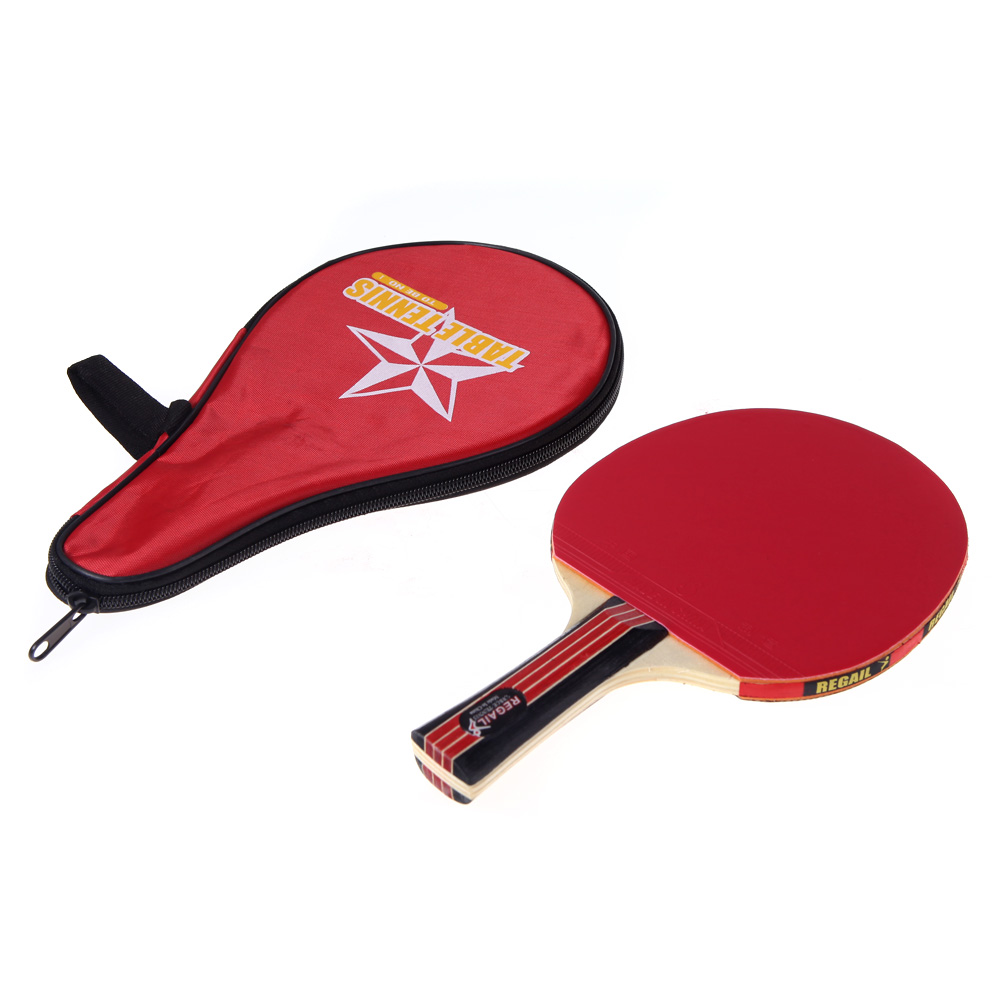 Long Handle Shake Hand Table Tennis Racket Waterproof Bag