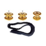 Plastic Track + Driving Wheel + Bearing Wheel Set Accessory For Robot Car Chassis