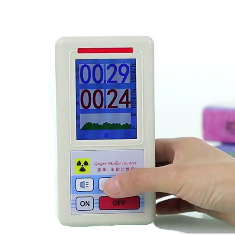 Geiger counter nuclear radiation detector personal - Detector de cables ...
