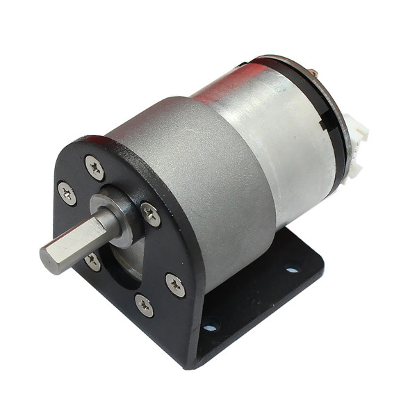 Dc 12v 320rpm encode gear reducer motor electric gear box Electric motor with gearbox