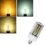 E17 E14 E12 9W 100 SMD 5736 LED Pure White Warm White Natural White 900Lm Corn Light Bulb AC85-265V