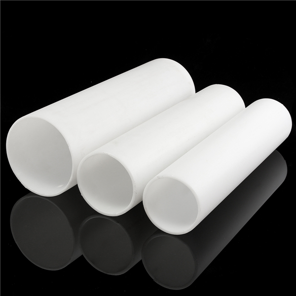 500mm white plastic pipe round ducting drainpipe for White plastic water pipe