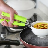 Universal Bowl Clips Prevent Hot Device Kitchen Clamp Handheld Dish Plate Clips Pot Clips