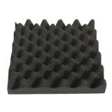 25X25X5cm Black Square Insulation Reduce Noise Sponge Foam Cotton