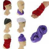 Multi-function Unisex Bandanas Head Wrap Scarf Wrist Band Hat Men Women 9 Colors