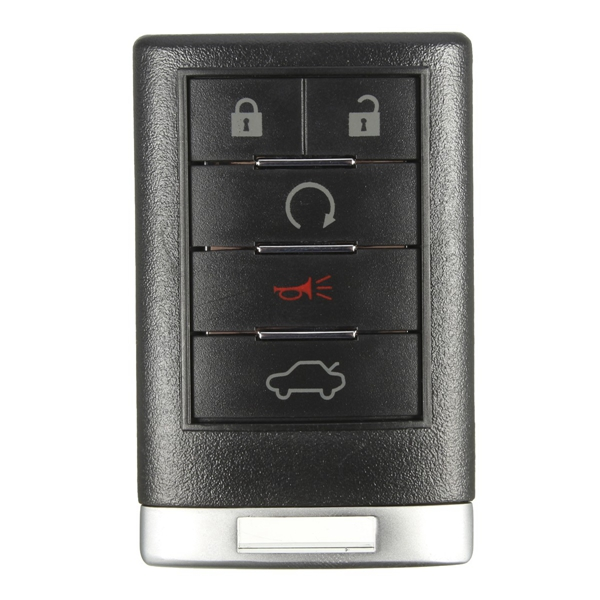 5 Button 315Hz Keyless Entry Remote Key Fob Transmitter