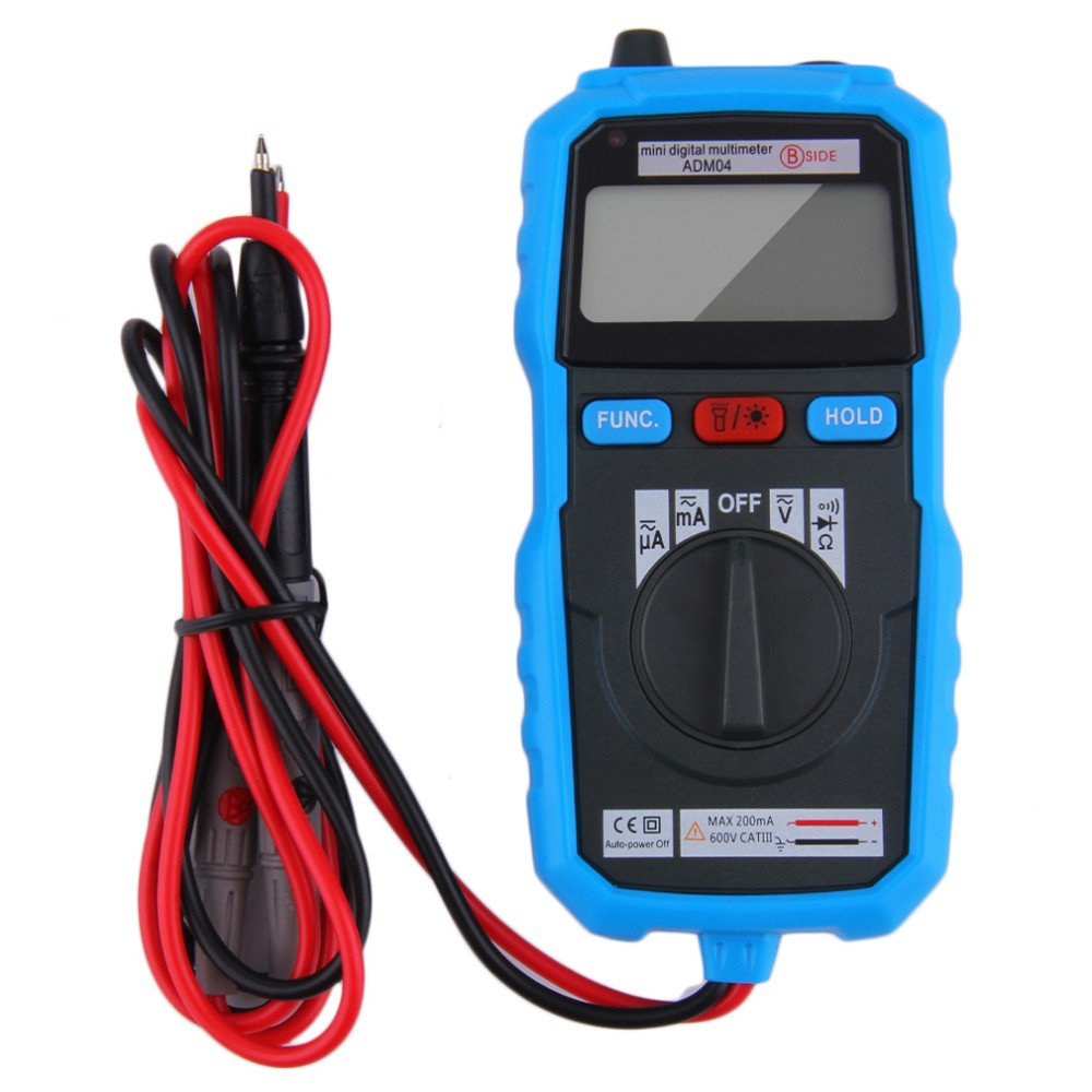 Bside Adm04 Mini Digital Auto Range Non Contact Multimeter Voltage Noncontact Ac 600v Detector Electrical Circuit Wire Tester Current Meter Diode
