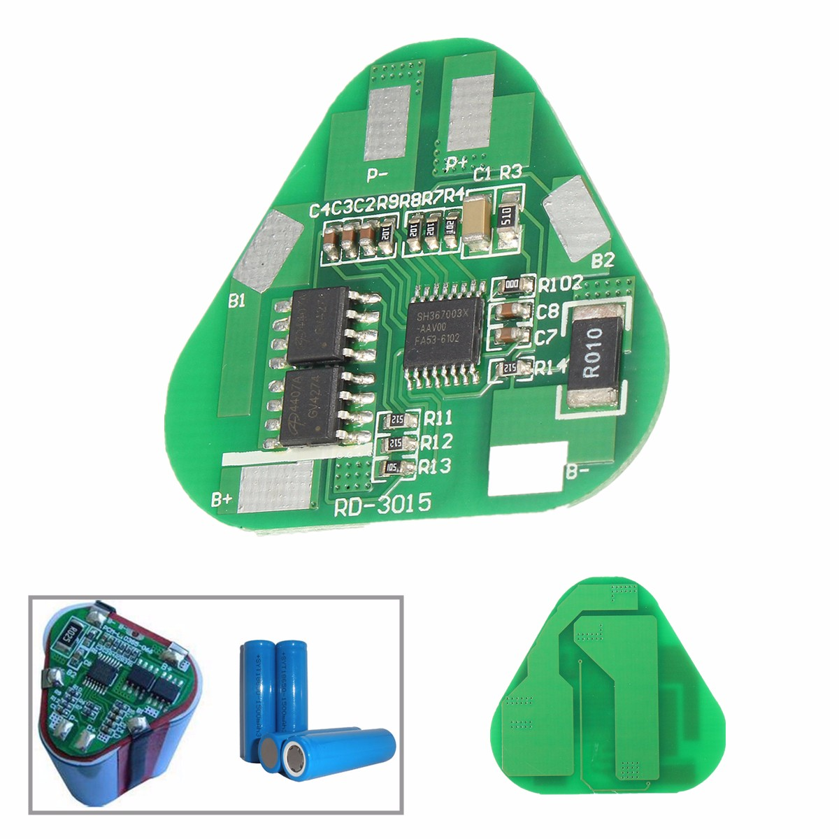 4a 3s Li Ion Lithium Battery Protection Circuit Board Three Cell Pcb Images Of 18650 250dd389 C6e6 444e 972c Feeea6d0789d