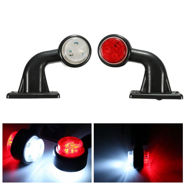 Side Marker Light For Car Truck Lorry Trailer  Turn Signal Light 10-30V New 2X
