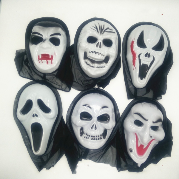 Anonymous Ghost Scary Mask Halloween Dance Fancy Dress Costume Cosplay Party SH