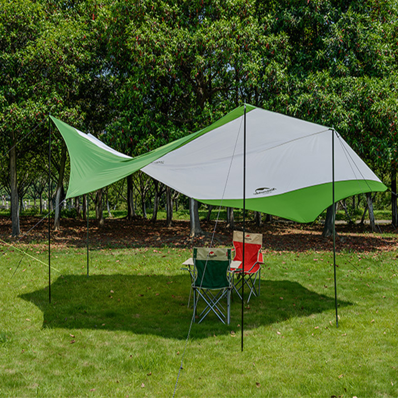 Naturehike Hexagon Sunshade Canopy Uv 40 Beach Waterproof Tent Awning Shade