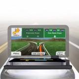 Universal Car GPS HUD Head Up Display Holder / Mobile Phone Navigation Bracket for iPhone, Samsung, Smartphones (Black)