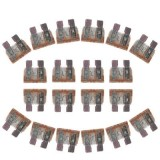 100PCS 12V 7.5Amp Car Add-a-circuit Fuse Tap Adapter Blade Fuse Holder (Big Size) (Coffee)