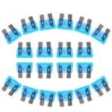 100PCS 12V 15Amp Car Add-a-circuit Fuse Tap Adapter Blade Fuse Holder (Big Size) (Blue)