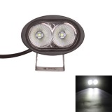 MZ DY6020 DC 9-32V 20W 2000LM 6500K IP68 Waterproof Vehicle Car Boat Marine External Work Lights Emergency Lights 45 Degrees Adjustable Flood Light LED Car Bulbs with 2 Intense CREE LED Lights (White Light)