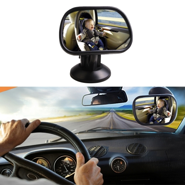 Baby In Sight Back Seat Auto Mirror For Car Safety