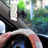 SHUNWEI Car Phone Multi-fuctional Mount Holder, Windshield / Dashboard Universal Car Mobile Phone cradle for iOS / Android Smartphone and More