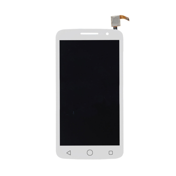 Replacement Alcatel One Touch Pop 2 Premium LCD Screen + Touch Screen  Digitizer Assembly (White)
