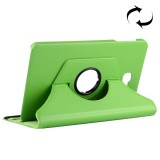 For Samsung Galaxy Tab A 10.1 / T580 Litchi Texture Horizontal Flip 360 Degrees Rotation Leather Case with Holder (Green)