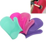 Silicone Makeup Brush Washing Glove Scrubber Cleaning Cosmetic Brushes Cleaner Pad Mat
