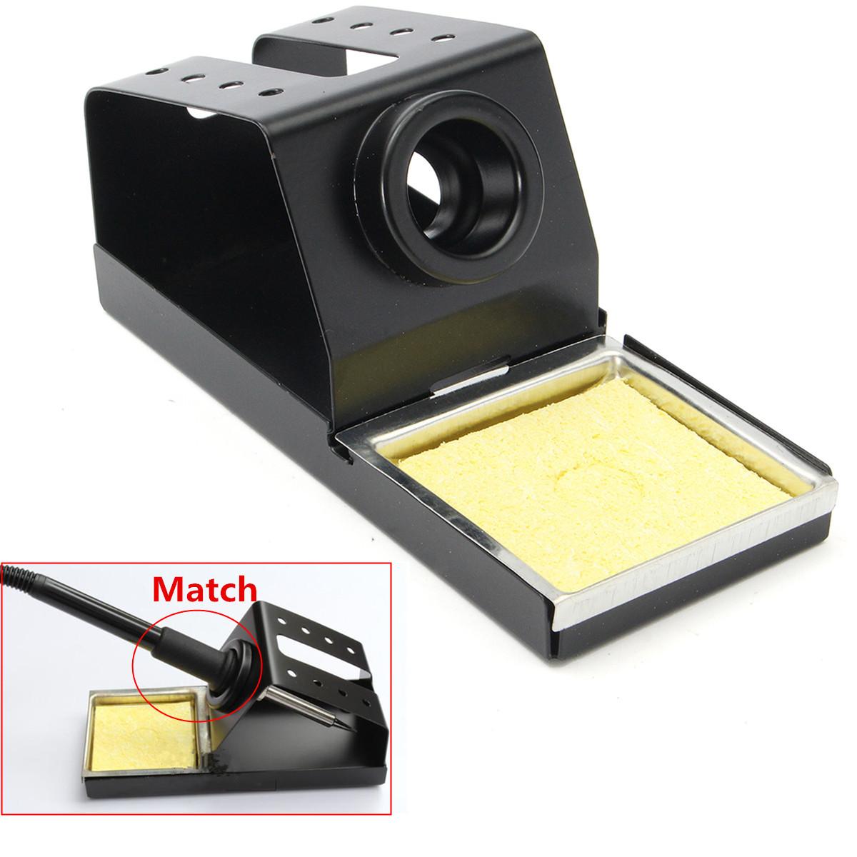 metal material soldering iron stand with sponge for hakko936 soldering station alex nld. Black Bedroom Furniture Sets. Home Design Ideas
