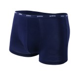 Mens U-shaped Pouch Sexy Underpants Casual Solid Color Boxer Modal Underwear