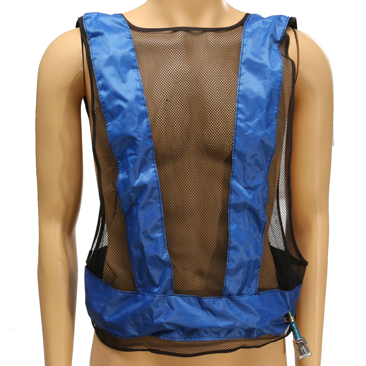 Air Cooling Vest : Vortex tube air conditioner waistcoat compressed